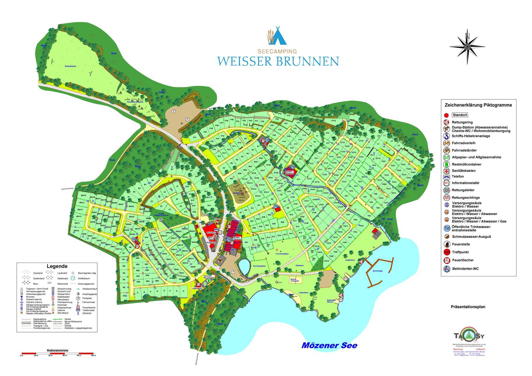 Platzplan Weisser Brunnen